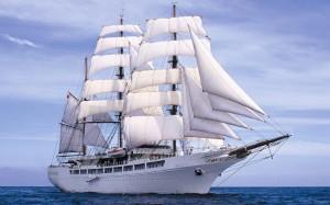 Современный корабль