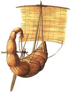 Египетские папирусные корабли