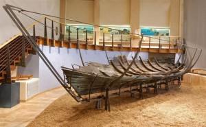 Финикийский корабль в музее