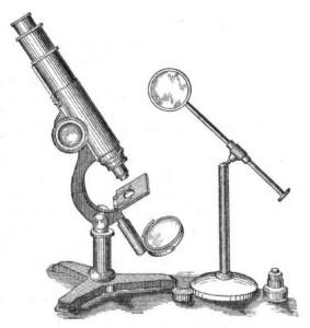 Первый прибор микроскопа З. Янсена