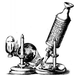Трехлинзовый микроскоп Гука