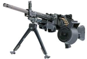 Современный пулемет