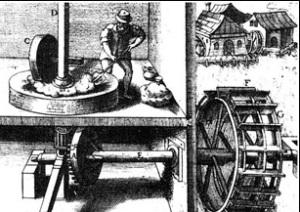 История изобретения водяной мельницы