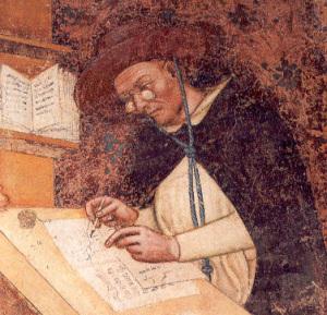 Фрагмент фрески из церкви Тревизо
