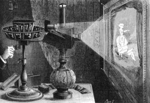 Проектор французского изобретателя Рейно