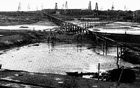 Первый в России нефтепровод Балаханы - Черный город