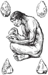 Рубило первобытного человека