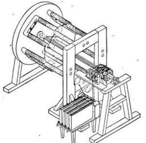 Первый электродвигатель постоянного тока Б.С.Якоби