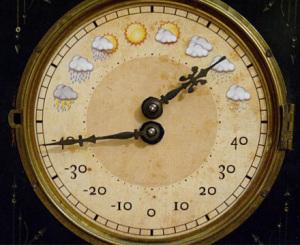 Старые механические часы