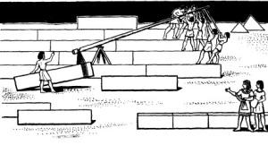 Строительство пирамид в Египте