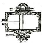 Газовый двигатель Лебона