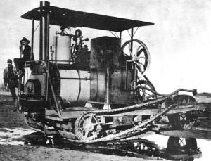 Трактор Холта предшественник танка
