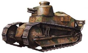 Французский танк Рено FT