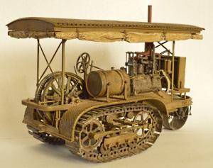 Трактор «Холт» 1912 г.