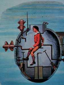 Подводная лодка «Черепаха»