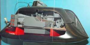 Модель подлодки Джевецкого