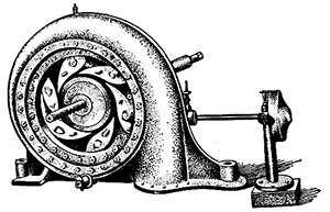 Первая гидравлическая турбина