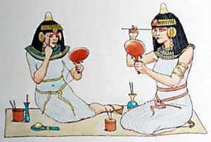 История косметики Древнего Египта