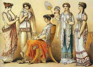 История косметики Древней Греции