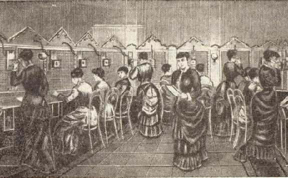 Первая телефонная станция, Нью-Хэвен (США)