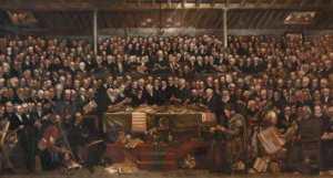 Заседание Свободной церкви в Шотландии