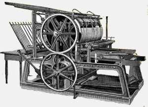 Скоропечатный станок Фридриха Кенига