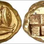 Древние монеты из золота