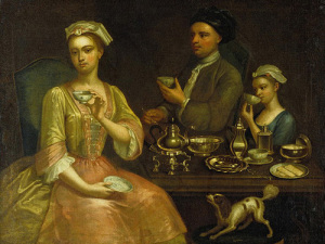 История появления чая в Европе