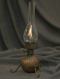 Первая керосиновая лампа
