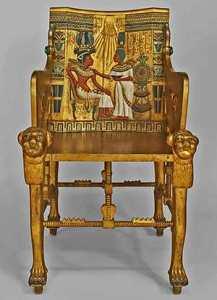 Стул-трон Тутанхамона